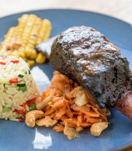 Op hete kolen, barbecuetip: Oosterse runder short-ribs