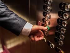 Bij brand tóch met de lift?
