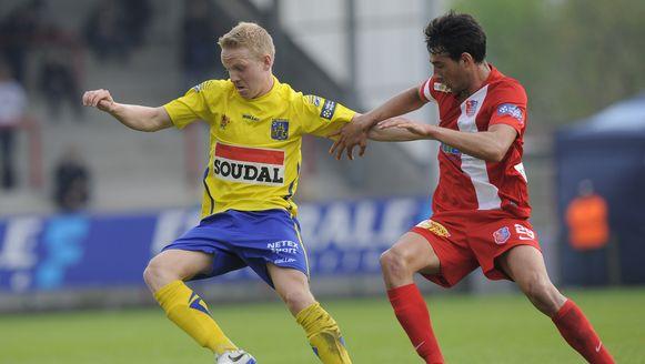 Laurens Paulussen (links) keert terug naar KV Mechelen