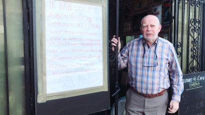 """Julien (66) baat als gepensioneerde een café uit, maar krijgt geen premie: """"Van wat moeten wij leven?"""""""