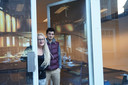 Barbara en haar partner Jarek in het toekomstige Cupcake House
