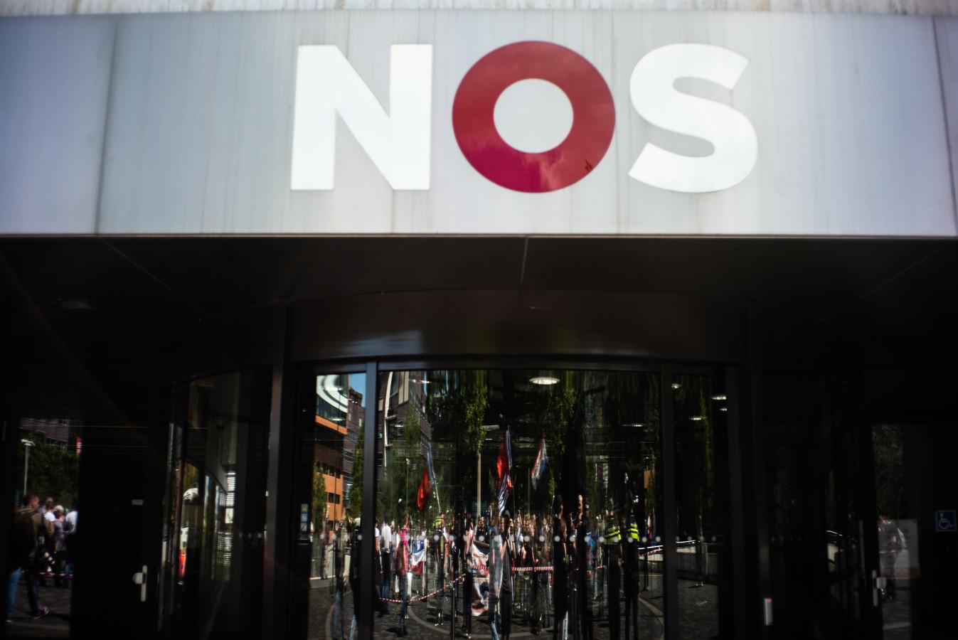 NOS-gebouw in Hilversum.