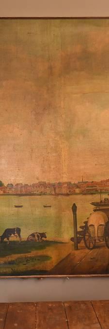 Unieke vondst: onbekend schilderij van Nijmegen opgedoken bij Amerikaans veilinghuis
