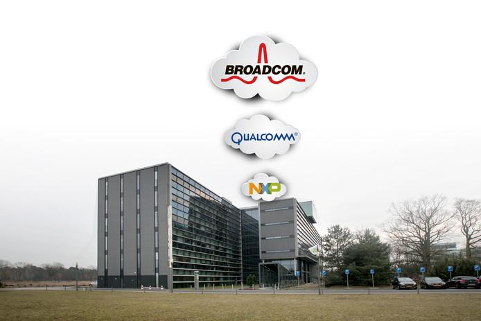 NXP op High Tech Campus in Eindhoven betrokken bij overnamestrijd.