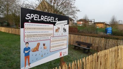 Gemeente stelt spelregels op voor gebruik hondenweide
