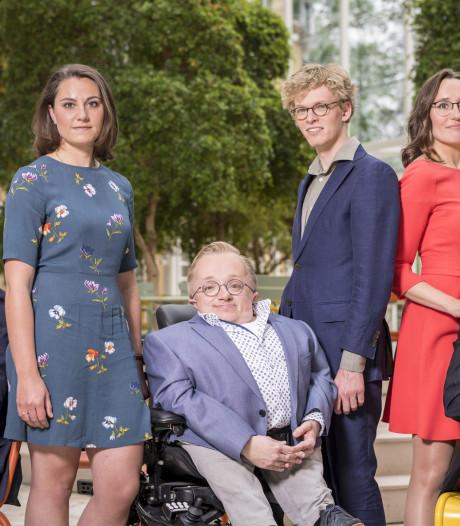 Rick Brink uit Hardenberg naar tv-finale Minister van Gehandicaptenzaken