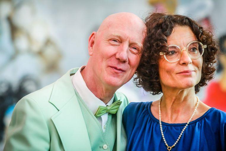 Herr Seele en Katia Belloy zijn voortaan man en vrouw.