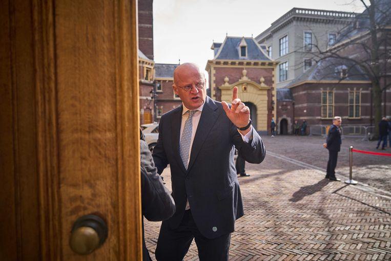 De Tweede Kamer wil uitleg van demissionair Minister Ferdinand Grapperhaus van Justitie en Veiligheid. Beeld ANP