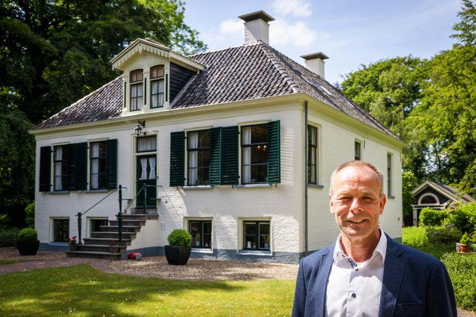 Directeur Minne Wiersma van de Koloniën van Weldadigheid