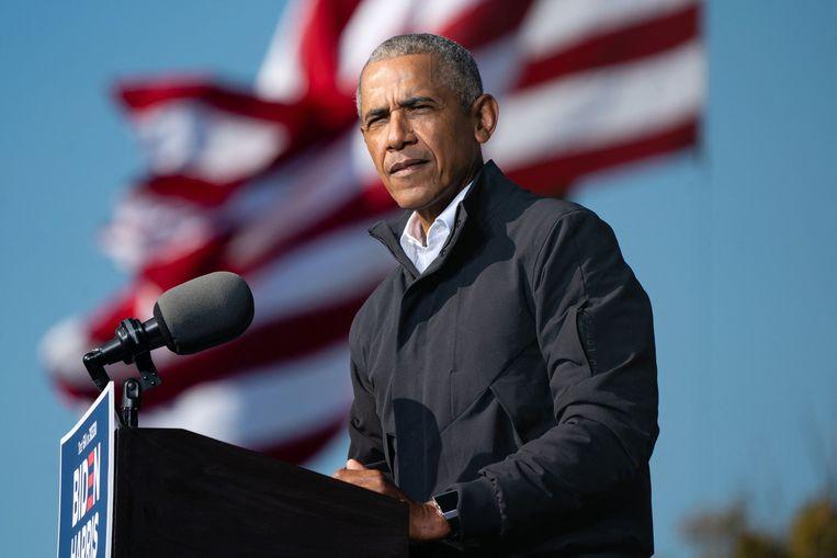 Oud-president Barack Obama.  Beeld AFP