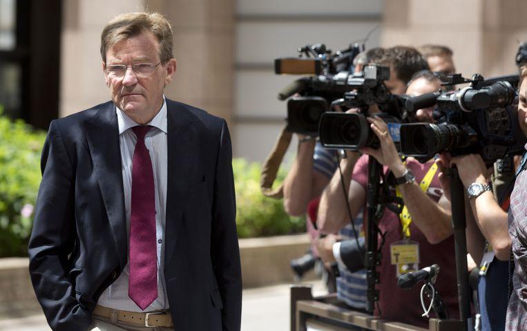 Minister van Financiën, Johan Van Overtveldt. Beeld AP