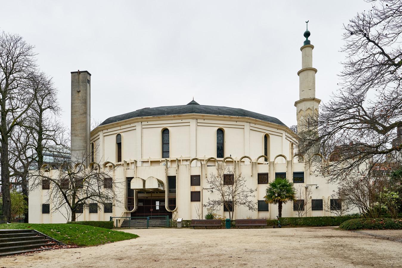 De Grote Moskee in het Brusselse Jubelpark