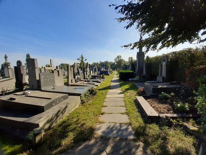 De begraafplaats van Kortemark.
