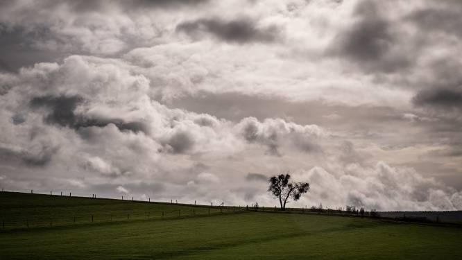 Zwaarbewolkte zaterdag met enkele buien