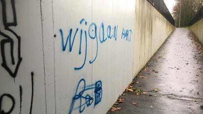 Al vijf meldingen van graffiti in centrum