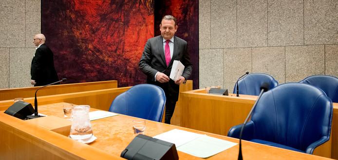 Nationale ombudsman Reinier van Zutphen in de Tweede Kamer.