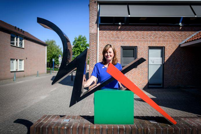 Directeur Hanneke de Rijter van Woningstichting Tubbergen.