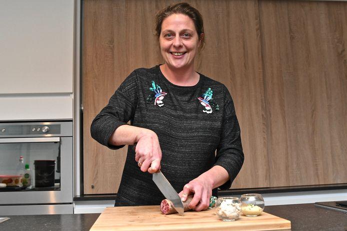 Sherly Vereecke van Up 't gemak levert huisbereide producten aan huis