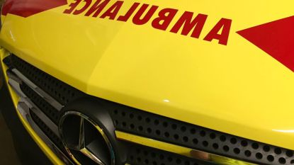 Motorfietser gewond na botsing met auto