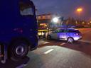 Het ongeluk gebeurde ter hoogte van Berchem.