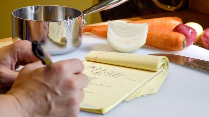 Maaltijden plannen helpt om gezonder te eten.