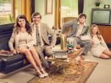 Wendy Van Wanten voor het eerst samen met kinderen Clément en Estelle op tv