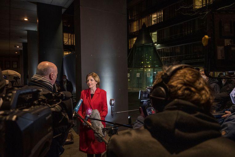 Malu Dreyer van de SPD behaalde ook een mooie score, als een van de weinige sociaaldemocraten. Beeld Getty Images