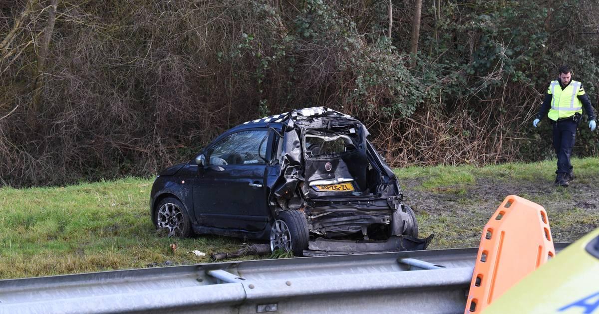 A2 afgesloten door zwaar ongeval bij Nieuwegein: snelweg richting Arnhem dicht.