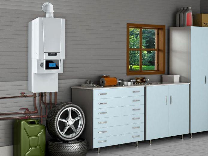 Een hybride systeem combineert een gascondensatieketel en een lucht-waterwarmtepomp.