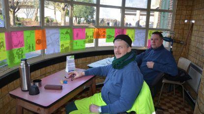 Kunstacademie versiert oud tramhuisje