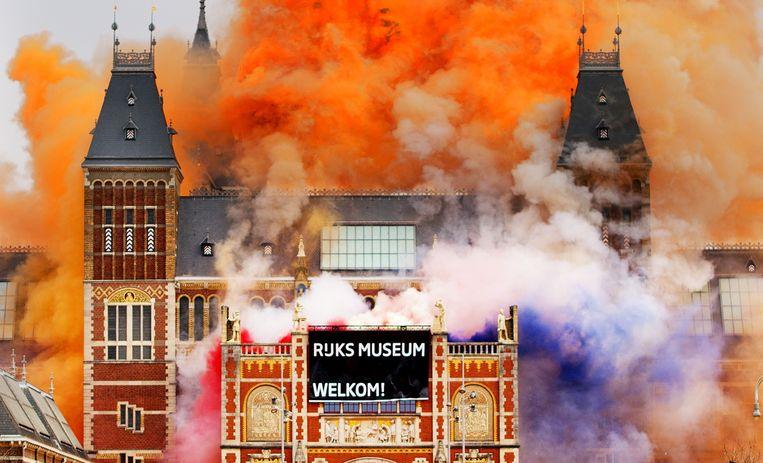 De heropening van het Rijksmuseum in 2013. Beeld anp