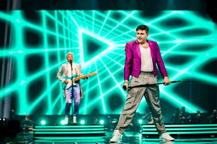 Duo Fyr and Flamme doet namens Denemarken mee aan het Songfestival. Net als alle andere deelnemers nemen ook zij in deze weken hun act alvast op, voor het geval het festival wegens corona niet op de normale manier kan doorgaan.