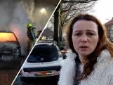 Drie auto's gaan in vlammen op in Wijchen