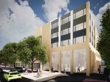 Lege kantoren worden omgetoverd tot appartementen in het centrum van Spijkenisse