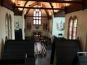 Champing in de kerk van Kaaskerke.