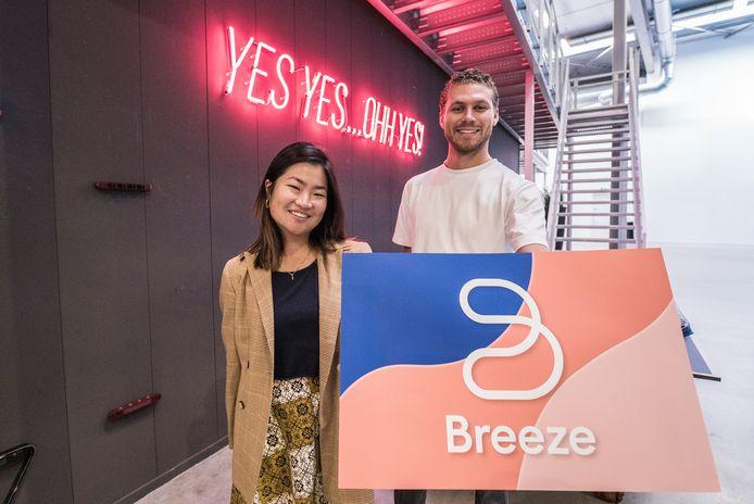 Dating-app Breeze - Marco vd Woude en Marsha Goei
