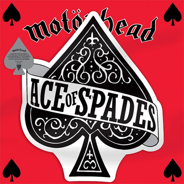 ace of spades Beeld rv