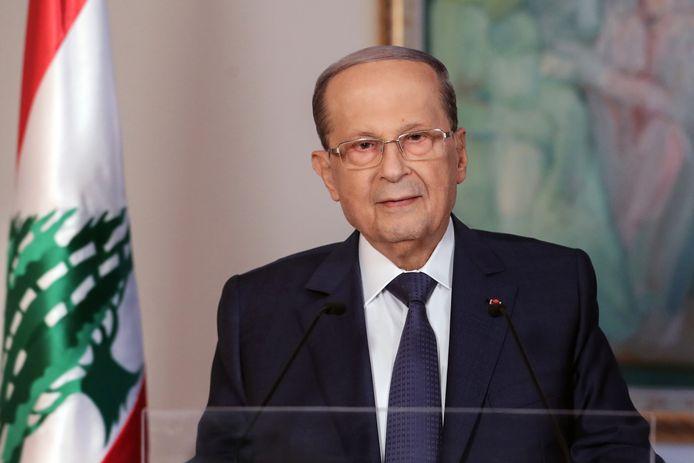 Le président libanais Michel Aoun.
