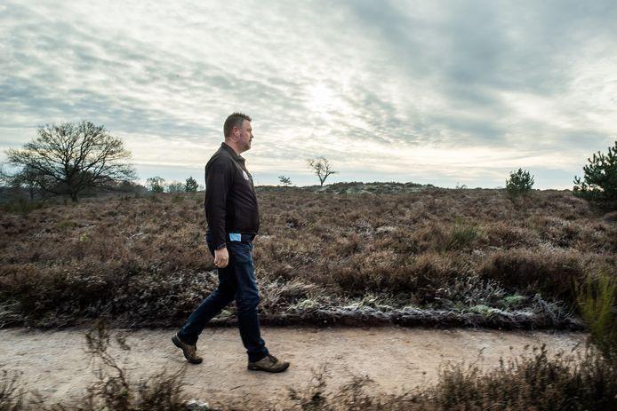 Veteraan Lars Meijer vlucht tijdens de jaarwisseling naar de Posbank.