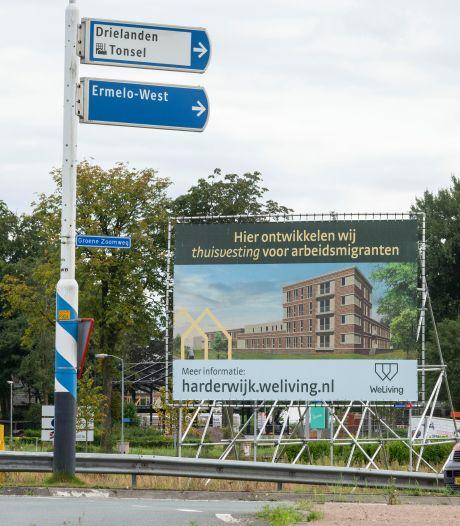Buurt blijft strijden tegen arbeidsmigrantenhotel Harderwijk: 'We gaan in de struiken liggen'