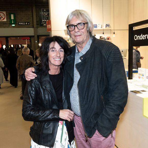 Pieter Aspe met zijn partner Tamara