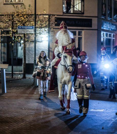 Sint en pieten verrassen Terborg met nachtelijk bezoek