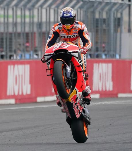 Une nouvelle victoire pour Marquez, le titre constructeurs pour Honda