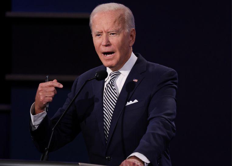 Joe Biden. Beeld