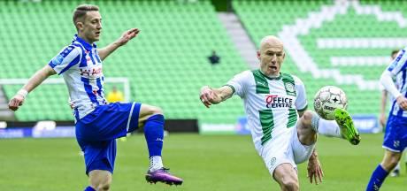 Robben maakt na zes maanden rentree bij verliezend FC Groningen