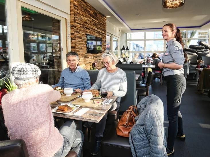 Restaurant 't Parkhuys in Utrecht: eten met de stofzuiger op de achtergrond