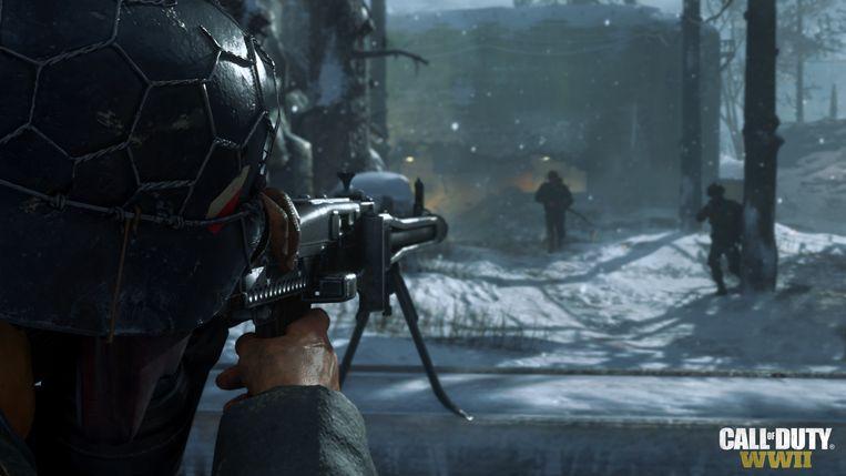 Beeld uit de nieuwe 'Call of Duty'-game Beeld rv