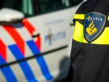 Stomdronken bestuurder vernielt rotonde en belandt met auto tegen boom in Waalwijk