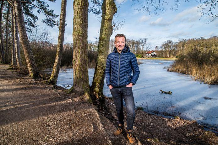"""Joost Posthuma: """"Het Lonnekermeer was voor mij dichtbij, een soort speeltuin. Ik fietste hier op de mountainbike en deed er crosstraining."""""""