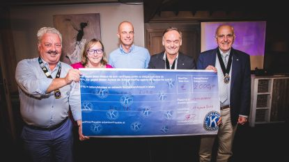 Kiwanis Destelbergen schenkt 2.000 euro aan Brake-Out